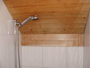 Holzdecke Im Bad : badezimmer umbau ~ Markanthonyermac.com Haus und Dekorationen