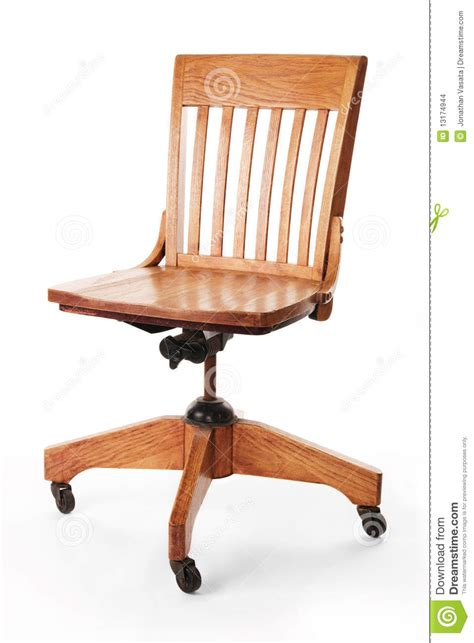 Armless Wood Bankers Chair by Mission Style Banker S Chair Stock Images Image 13174944