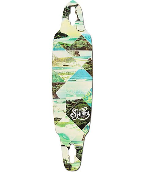 sector 9 norseman 38 quot drop through longboard deck