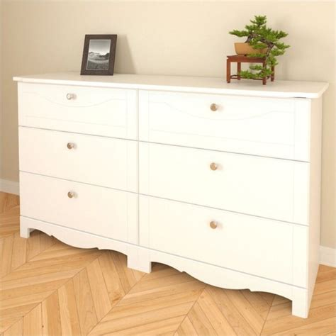 6 drawer dresser white nexera dixie 6 drawer mirror set white dresser ebay