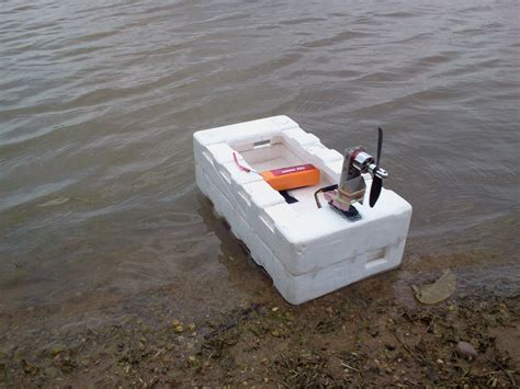 Homemade Fishing Boat by Home Made Rc Boat Youtube