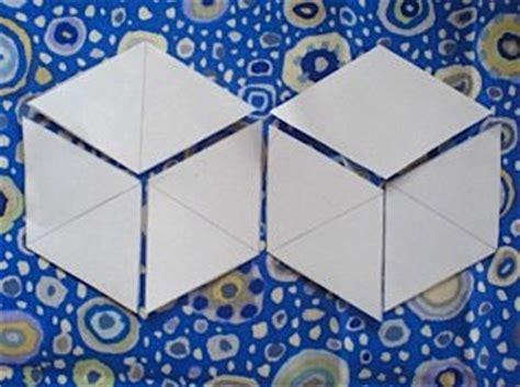 Tumbling Block Quilt Pattern Template by Tumbling Blocks Template A Simple Tutorial Dawn Chorus