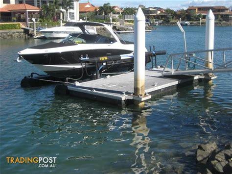 Boat Storage Cleveland Qld by Pontoon System Piled Pontoon System 7m X 3m Catwalk