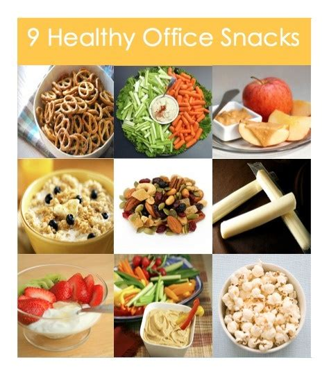 9 healthy office snacks the daily grind