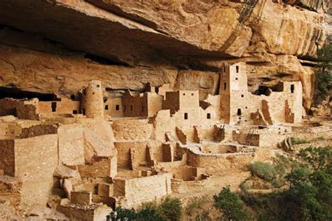 pueblo they are common to the southwest desert the earth mesa verde national park national park colorado united