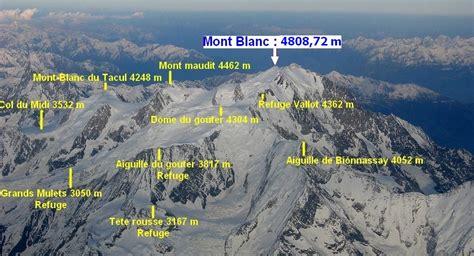 le mont blanc ascension