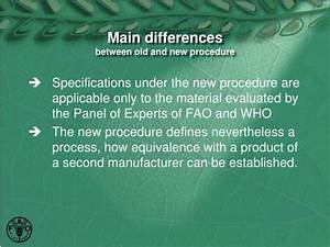 PPT - FAO and WHO Specifications for Pesticides PowerPoint ...