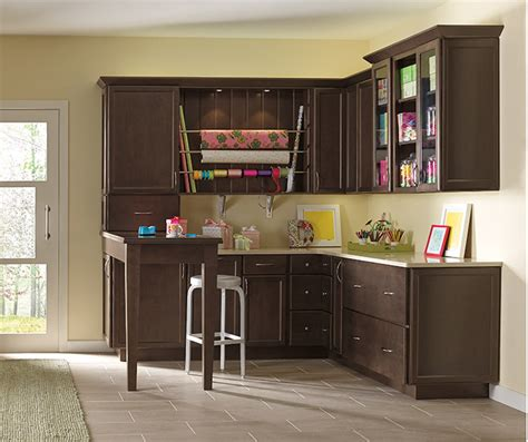 Craft Room Design  Diamond Cabinetry