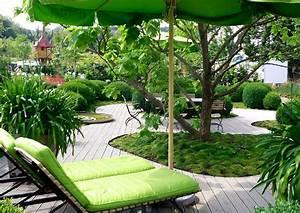 Kleine Terrasse Gestalten : kleiner garten mit terrasse und rasen kleine grten gro gestalten nowaday garden ~ Markanthonyermac.com Haus und Dekorationen