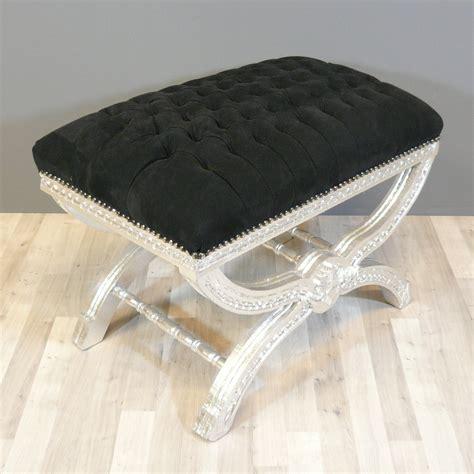 pouf baroque noir capitonn 233 canap 233 baroque chaise baroque