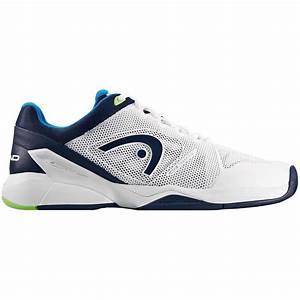 Head Mens Revolt Pro 2.0 Tennis Shoes - White/Blue ...