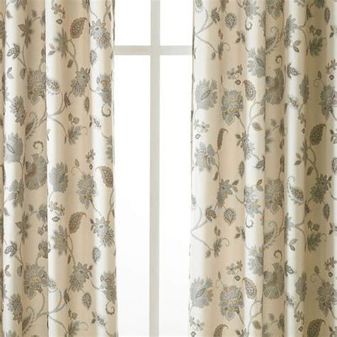 linden odette grommet top curtain panel jcpenney