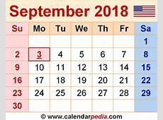 September 2018 Calendar With Holidays UK calendar month