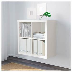 Ikea Körbe Kallax : ikea kallax 4 cube storage bookcase square shelving unit various colours ~ Markanthonyermac.com Haus und Dekorationen