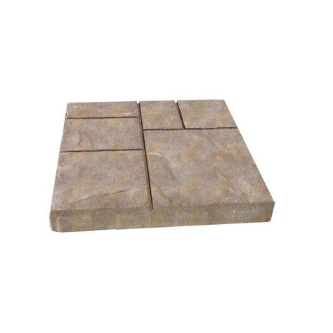 oldcastle avellino 16 in x 16 in avondale concrete paver 12100058 the home depot