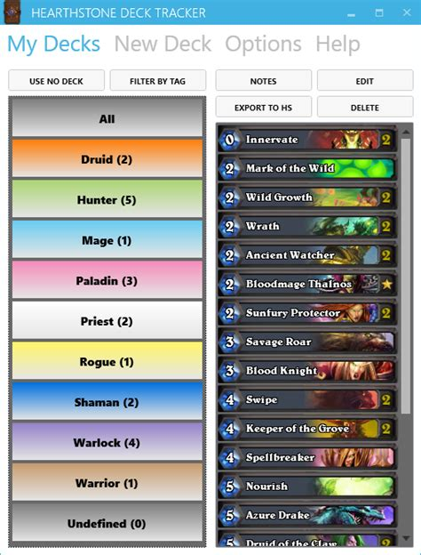 hearthstone deck tracker hearthstone heroes of warcraft
