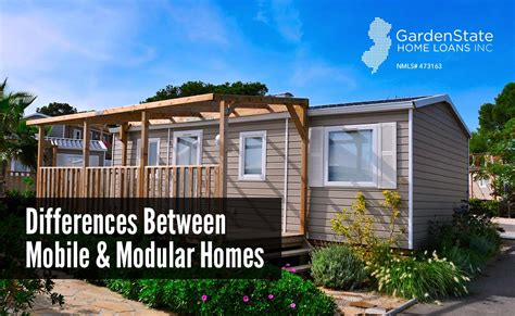 Garden Homes Est Mobile Home what is the difference between mobile homes and modular