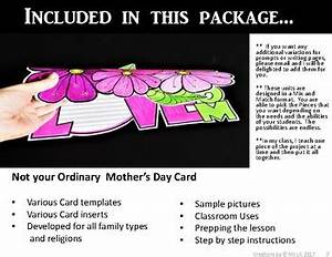 Mothers Day Craft :: Mother's Day Writing :: Mother's Day ...