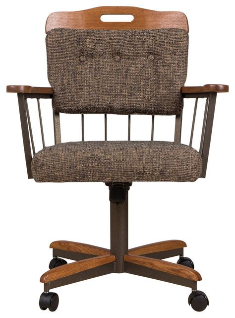 casual dining room caster chair transitional office chairs by farmhouse dining dot