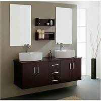 vanities for bathrooms Bathroom. Make Stylish Bathroom, Add Floating Vanity ...
