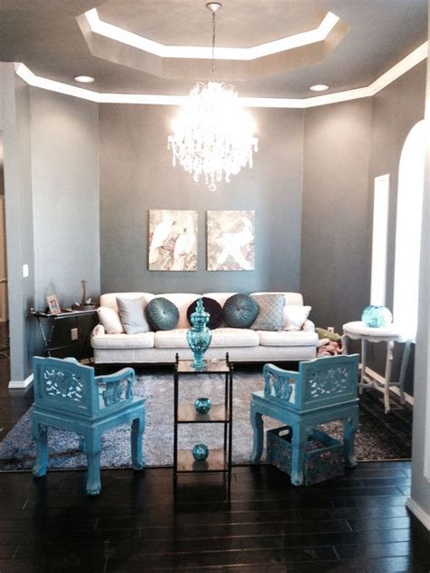 grey brown and turquoise living room blue gray turquoise living room treasures in the home