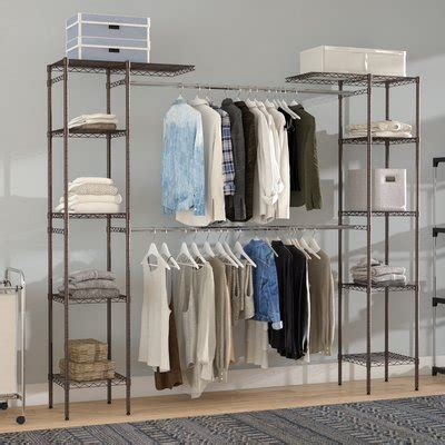 Freestanding Closet Systems You'll Love Wayfair