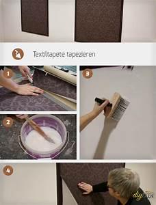 Möbel Tapezieren Anleitung : textiltapeten tapezieren anleitung ~ Markanthonyermac.com Haus und Dekorationen