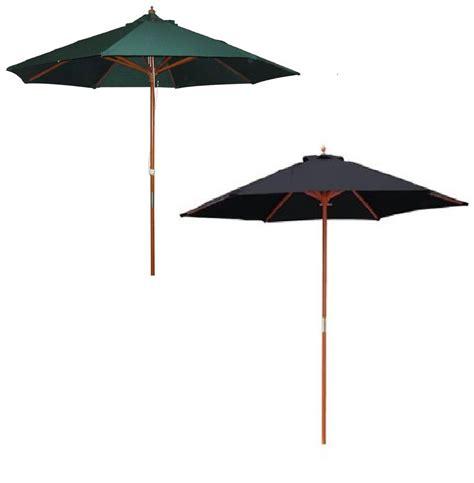 2 4m garden patio parasol umbrella large wooden garden furniture parasol green ebay