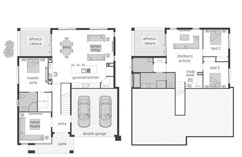 split level floor plans houses flooring picture ideas horizon act floorplans mcdonald jones homes