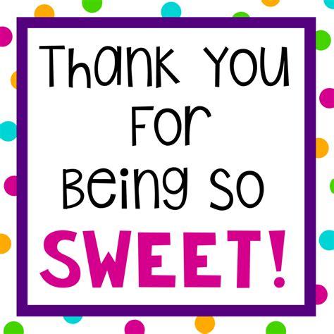 """sweet"" Thank You Ideas Funsquared"
