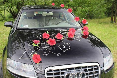 d 233 corations pour voiture des mari 233 s fleurs artificielles