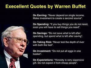 Warren Buffet's saving style – Wellrounded Investors