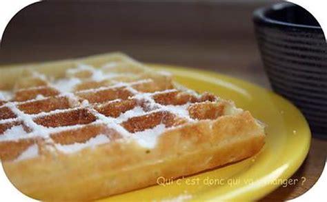 recette de gaufres et sucre glace maison sans gluten et