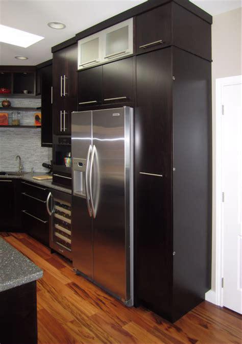 Kitchen Sink Makers by Built In Fridge Wine Fridge Coffee Maker And Prep Sink