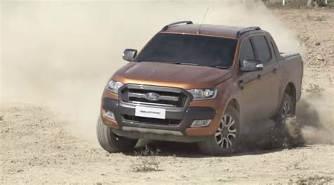2015 ford ranger wildtrak looks and rugged autoevolution