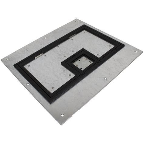 fsr fl 600p plp blk c cover w 1 4 quot painted black carpet flange for fl 600p conference room av
