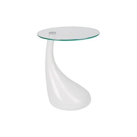visuel table d appoint blanc laque z