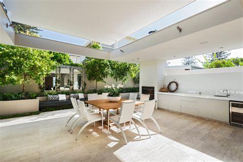 ozone extension renovation contemporary patio perth by liz prater design home