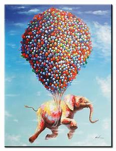 Moderne Kunst Leinwand : moderne kunst flying jumbo leinwandbild hand berarbeitete mischtechnik online im gratisversand ~ Markanthonyermac.com Haus und Dekorationen