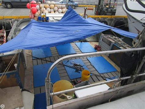 Fishing Boat For Sale Honolulu by 1975 Used Delta 50 Commercial Fishing Boat Longliner Boat