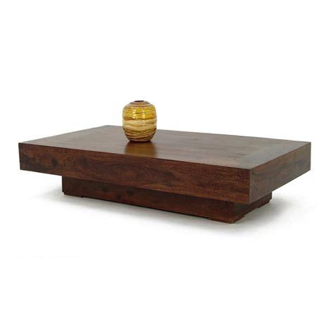 table basse rectangulaire en bois de palissandre jorg 05299
