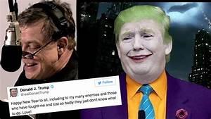 Mark Hamill Reading Donald Trump's Tweets As The Joker Is ...