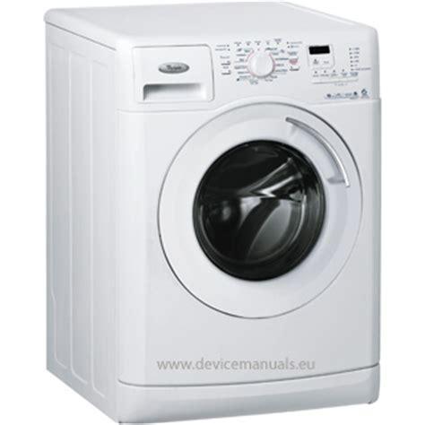 lave linge whirlpool awoe 9411 mode d emploi mode d emploi devicemanuals