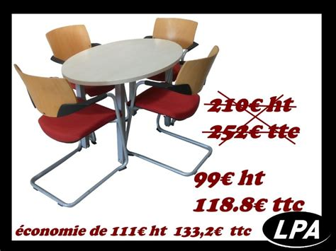 ensemble table de r 233 union pas cher table de r 233 union mobilier de bureau lpa