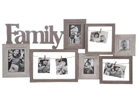 pele mele 7 cadres family bois gr 232 ge 96x5x47cm j line j line by jol