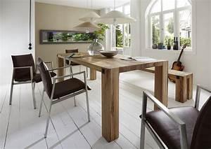 Holztisch Massiv Esszimmer : esszimmer eiche ~ Markanthonyermac.com Haus und Dekorationen