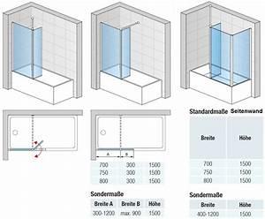 Badewanne 120 Cm : duschkabine badewanne 120 x 150 cm dusche mit beweglichem element ~ Markanthonyermac.com Haus und Dekorationen