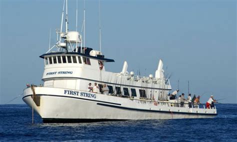 First String Fishing Boat by Long Range Fishing Trips H M Landing Bookings