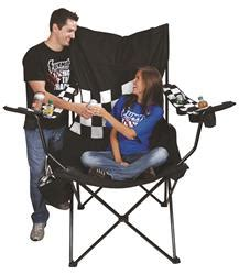 checkered flag kingpin folding chair free shipping on