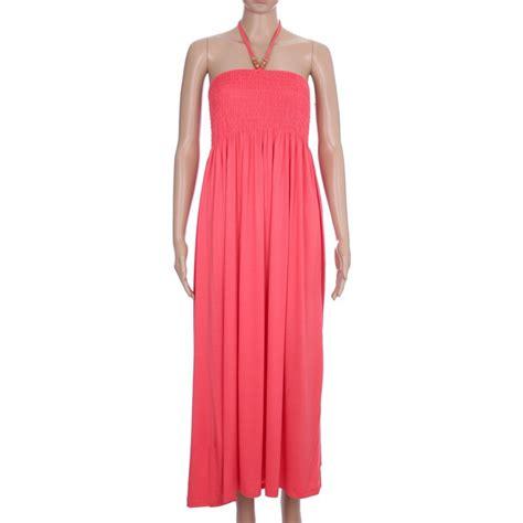 robe longue smockee 2108 grossiste pret a porter